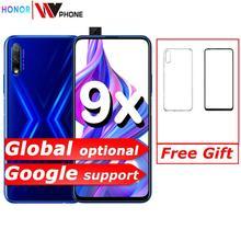 Honor 9x Smart Phone 6.59 inch Lifting Full Screen 48MP Dual Cameras 4000mAh GPU