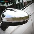Зеркало заднего вида для Volkswagen Tiguan 2017 2018 2019 ABS Chrome  боковое зеркало заднего вида  зеркала заднего вида  накладка  автомобильные аксессуары