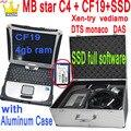 Лучший MB STAR C4 SD соединение мультиплексор компактный 4 WI-FI звезда C4 программное обеспечение 2021,03 диагностический инструмент с ноутбуком CF-19 п...