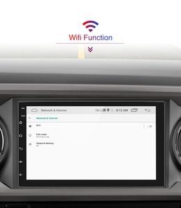 Image 3 - AMPrime Samochodowy odtwarzacz multimedialny 2 DIN z GPS, 7 calowy ekran, Android, Bluetooth, radio FM, wsparcie stereo, wejścia USB i AUX, MP5