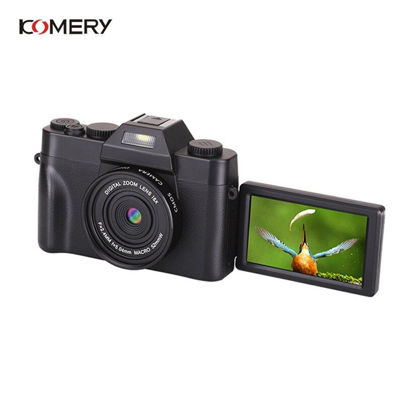 KOMERY Professionelle Digitale Kamera 3,0 Inch LCD Flip Screen 4K Video Kamera 16X Digital Zoom HD Ausgang Unterstützung WiFi selfie Cam - 4