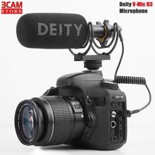Deity V Mic D3 Super cardioid Condenser Shotgun ไมโครโฟนใช้งานร่วมกับกล้อง,เครื่องบันทึก,สมาร์ทโฟน, แล็ปท็อปแท็บเล็ต