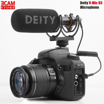 Deity V-Mic D3 super-cardioid Condenser Shotgun Microphone Compatible with Cameras, Recorders, Smartphones, Laptop, Tablets