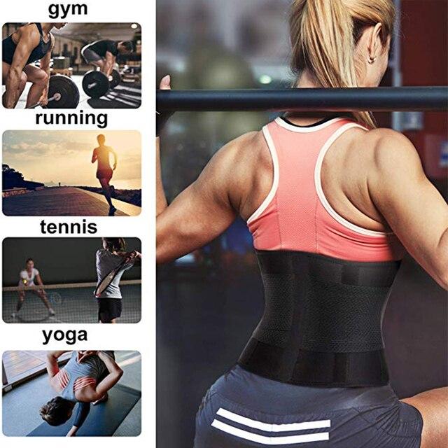 Women Waist Trainer Belt Tummy Control Waist Cincher Trimmer Sauna Sweat Workout Girdle Slim Belly Band Sport Girdle