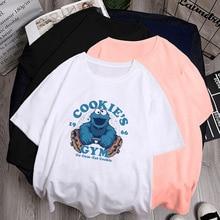 2020 women t-shirt cookie short sleeve summer T-shirt women's Clothing bottomed Fashion Top