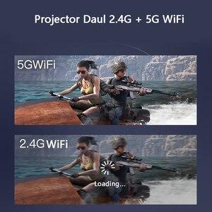 Image 4 - Smartldea K1 HD DLP מקרן אנדרואיד 2G RAM 32G ROM 4K 3D בהירות גבוהה מקרן 5G wifi airplay וידאו משחק proyector