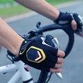 Портативный светодиодный езда на велосипеде перчатки поворотов на полпальца светильник автоматический индукционный безопасности Предупр...