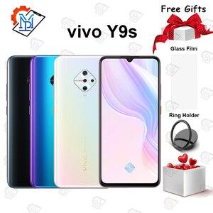 Оригинальный vivo Y9s мобильный телефон 6,38 дюймов Супер AMOLED экран 8G + 128G Восьмиядерный Snapdragon 665 четыре камеры 4500 мАч смартфон