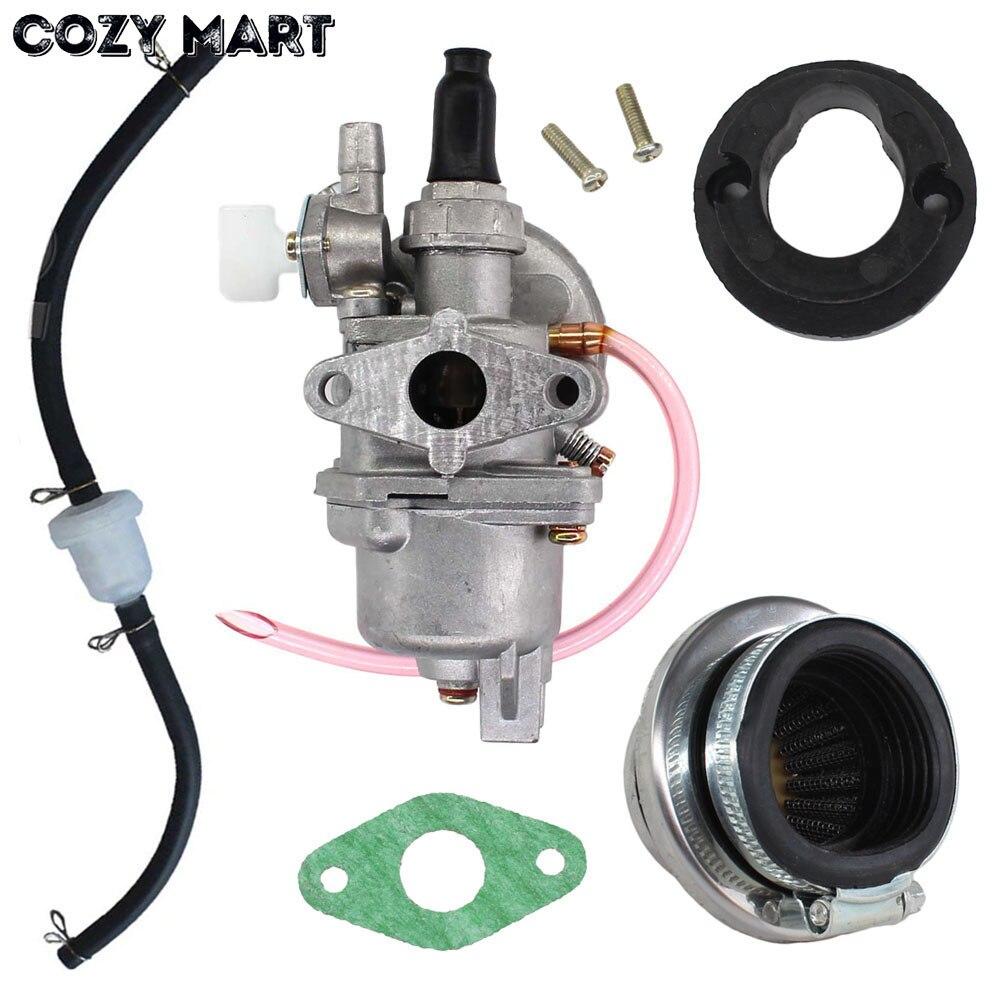 Карбюратор Carb сталь 44 мм воздушный фильтр топливный фильтр стек 47cc 49cc Мини Мото Грязь мини мотоцикл ATV квадроцикл Мини Мото мини|Бензопилы|   | АлиЭкспресс