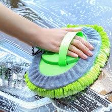 Nuova spazzola per autolavaggio scopa in ciniglia Super assorbente strumento per la pulizia manuale spazzole per lavavetri spazzole per polvere morbida cera Mop accessori Auto