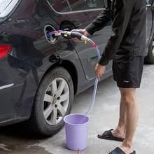 Автомобильный топливный бак на присоске