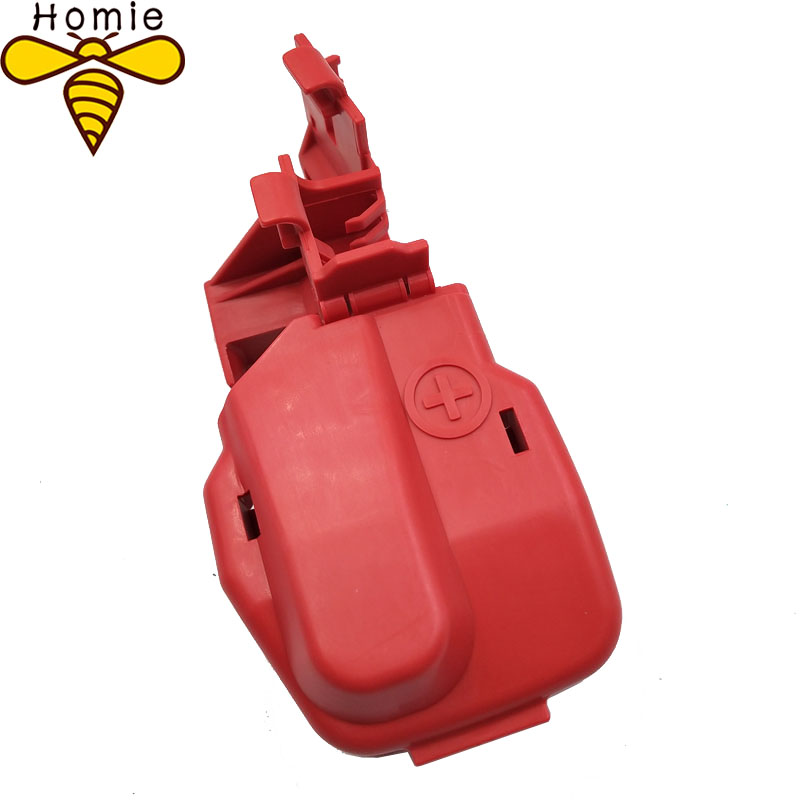 frete gratis vermelho novo para honda bateria positiva cabo terminal capa 32418rbg300 32418 rbg 300
