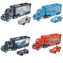 Voitures Disney Pixar Cars 3 et 2 pour enfants, jouet en alliage métallique moulé, flash McQueen 1:55, cadeau de noël, flambant neuf