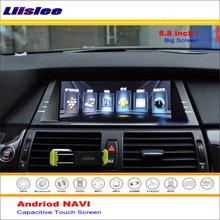 Liislee Auto Android GPS Navi Navigation System Für BMW X5/X6 E70 2007 ~ 2014 Radio Stereo Audio Video multimedia Keine DVD-Player