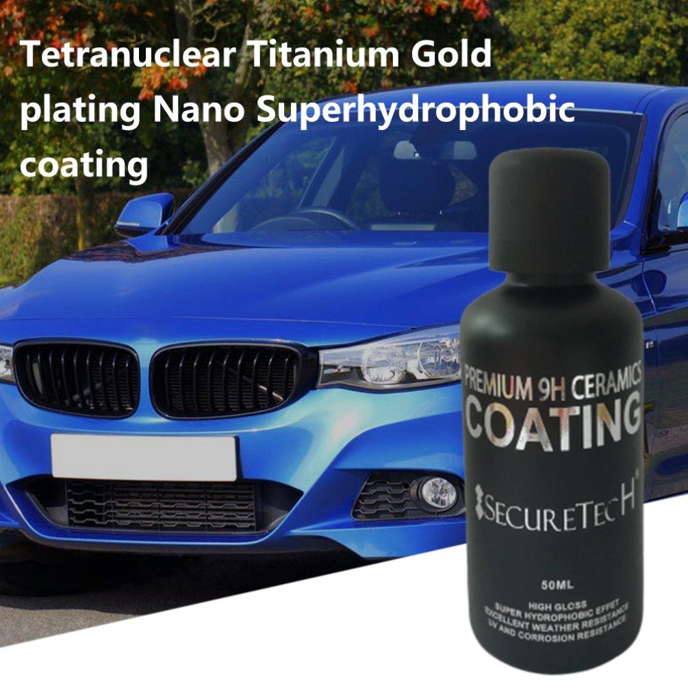 Auto Beauty 30/50ml Graphene Nano-plated Crystal Super Hydrophobic Nano-coating Paint Brightening Flooding Nano