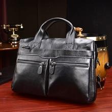 MAHEU Brand Fashion Designer Leather Messenger Briefcase Mens  Business Bags IPad Computer Bags 2019 Hot Fashion Male HandBags