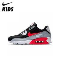 Nike ar max 90 original nova chegada crianças sapatos almofada de ar tênis de corrida confortáveis esportes # aj1285|Tênis| |  -