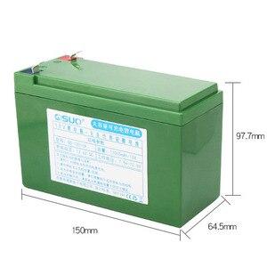 12V 10Ah Перезаряжаемые литий-ионный аккумулятор 18650 литий-ионный аккумулятор для свинцово-кислотная батарея светодиодный светильник Электри...