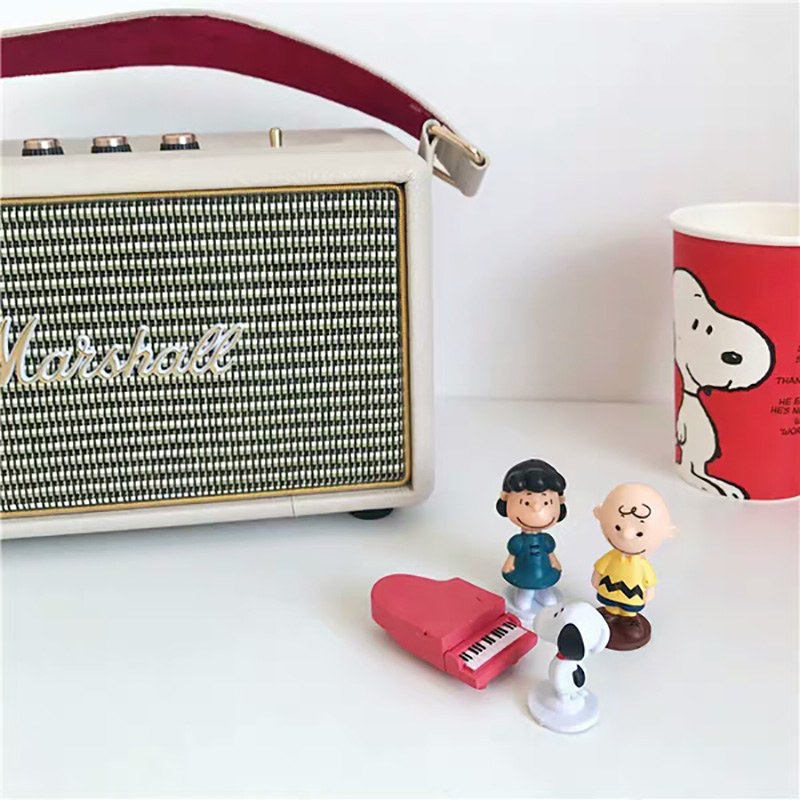 7/12pcs/set Animation Peanuts Charlie Brown And Friends Beagle Action Figure Peanut PVC Collection Miniature Model Kid Toy Gifts