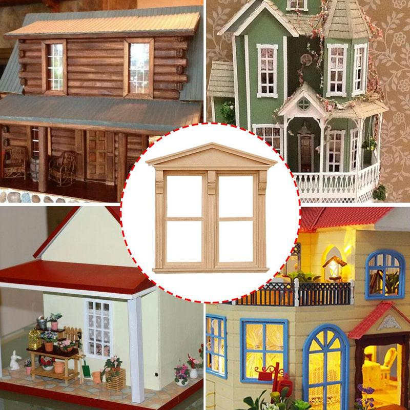 Birch Furniture desk Scale Dollhouse Miniature Delicacy Vintage Mini Fixture