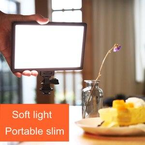 Image 4 - Viltrox L116T LED الفيديو الضوئي رقيقة جدا LCD ثنائية اللون و عكس الضوء DSLR استوديو مصباح ليد مصباح لوحة للكاميرا كاميرا فيديو DV