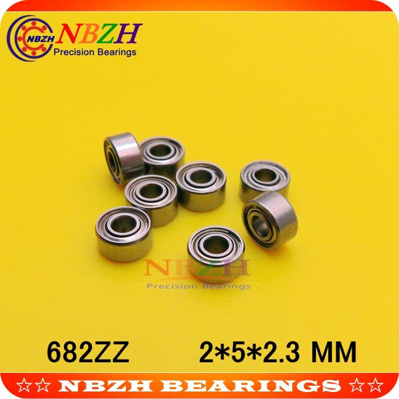 682 ZZ 682 682Z глубокий шаровой подшипник 2x5x2,3 мм Миниатюрный подшипник полный комплект 682ZZ 618/2ZZ 2000082 L520ZZ 2*5*2,3 мм