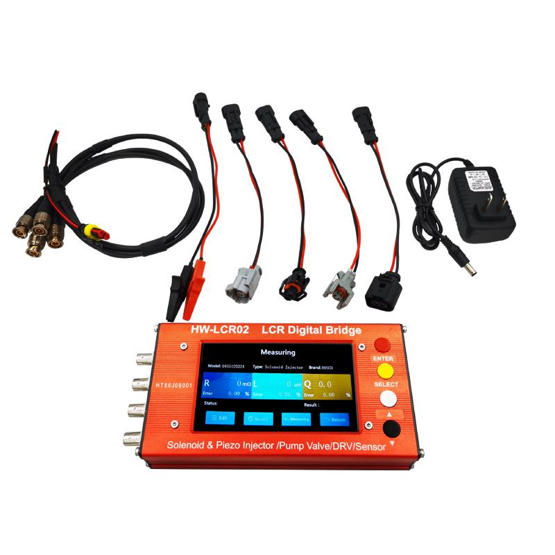 Solenoid And Piezo Injector/pump Value/DRV Can Test Inductance And Resistance Of Electromagnetic Injectors, EUI/EUP, ZME And DRV
