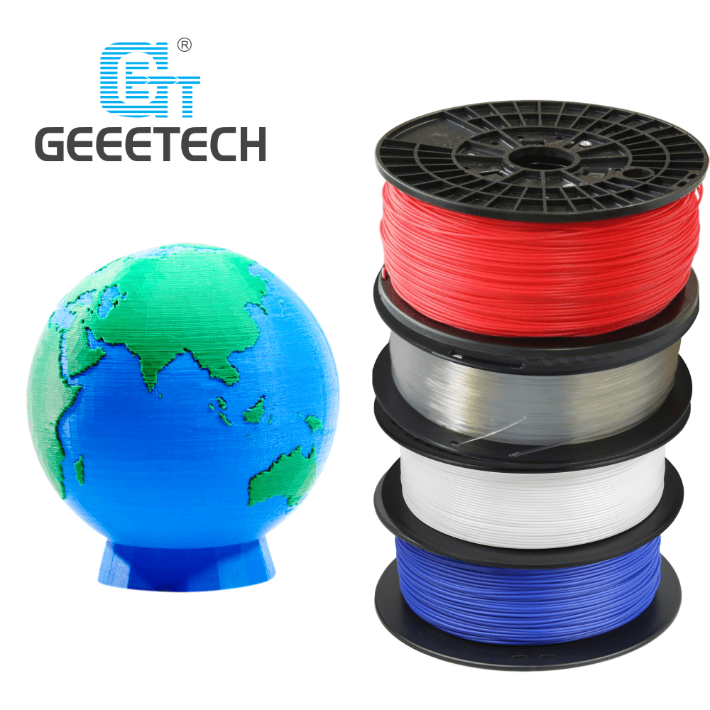 GEEETECH 1kg 1 75mm PLA 3D Printer Filament  Vacuum Packaging Overseas Warehouses A variety of Colors Fast Ship