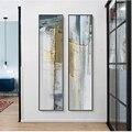 Картина на холсте с узором из зеленых камней, геометрические декоративные рамки, современные минималистичные вертикальные абстрактные дек...