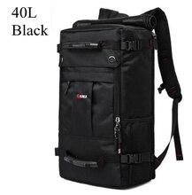 Kaka mochila masculina impermeável, mochila masculina feita em tecido impermeável, ideal para viagens e uso executivo