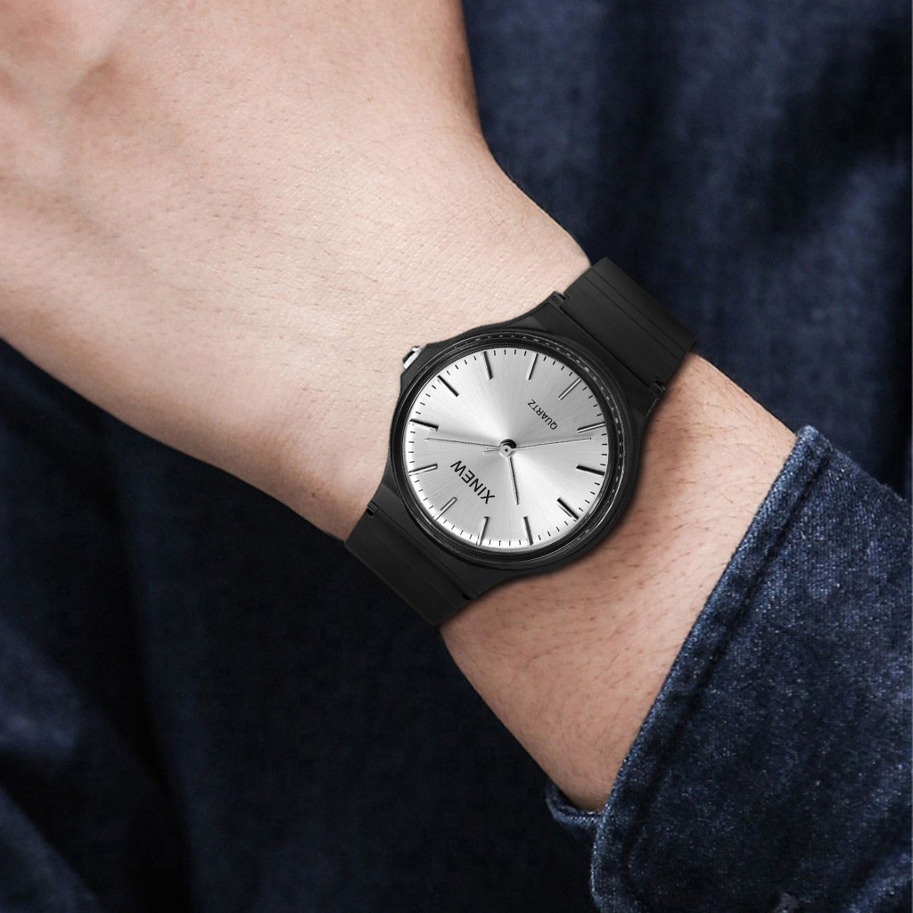 Man watch Reloj hombre Ultra-thin Unisex Children Sports Watch Silicone Watch Analog Quartz Wristwatch Montre homme@@7