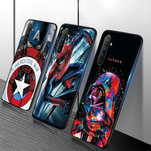 For OPPO A3S Case A7 AX7 Captain Marvel