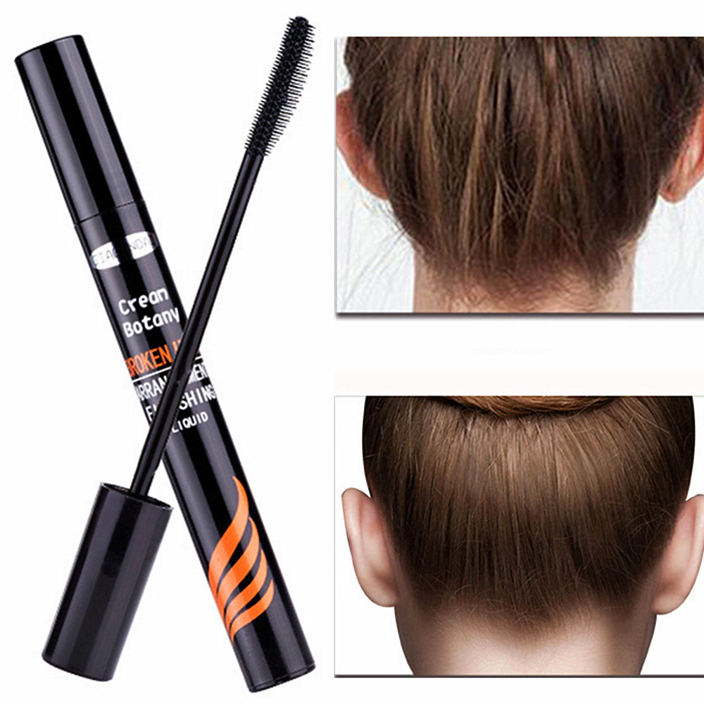 1pc Rapid Fixed Hair Gel Finishing Stick Not Hairy Untidy Hair Finishing Liquid Cream Styling Cream Hair Pomade Comb Not Greasy