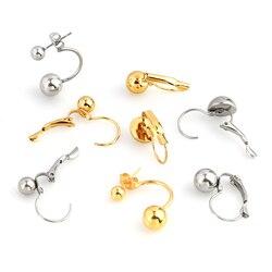 10pcs Stainless Steel Fittings Earring Hooks Earrings Ear Hook Parts Earrings Diy Earring Base Earring Diy Earrings Jewelry HXD