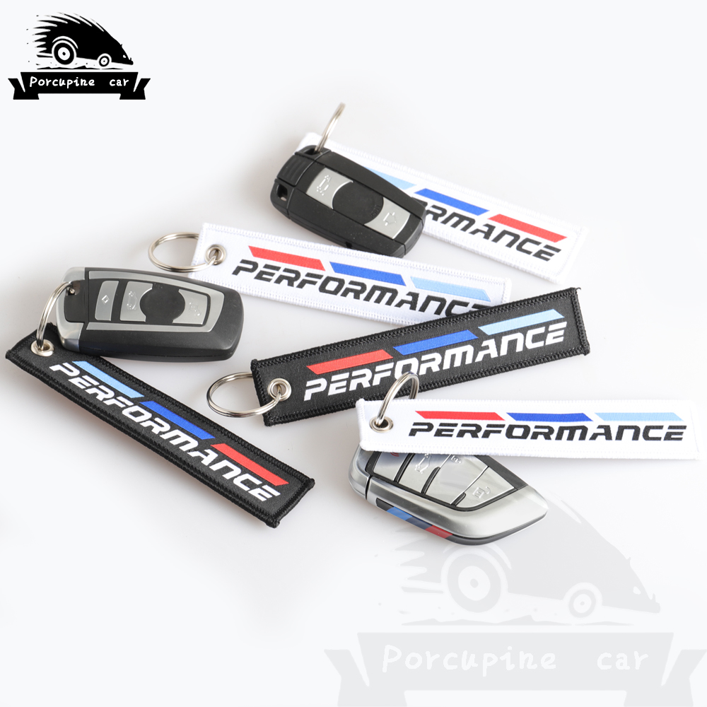 Key Ring Auto Key Chain <font><b>Car</b></font> Keyring <font><b>Keychain</b></font> <font><b>For</b></font> <font><b>BMW</b></font> M Performance 1 3 5 6 7 X1 X3 X5 X6 E46 E39 E36 E90 F10 F30 <font><b>Car</b></font> <font><b>Styling</b></font> image