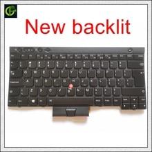 """תאורה אחורית חדש אנגלית מקלדת עבור Lenovo ThinkPad L530 T430 T430S X230 W530 T530 T530I T430I 04X1263 04W3048 04W3123 ארה""""ב"""