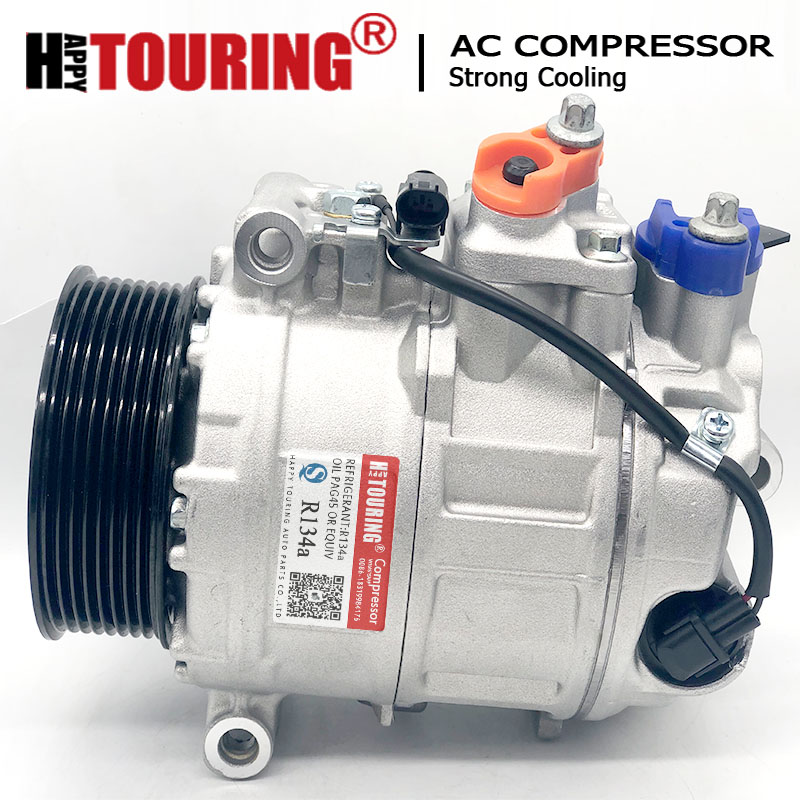 Car Air Condition AC Compressor For Mercedes-Benz W164 <font><b>X164</b></font> W251 GL320 GL420 ML320 ML350 R350 0012304711 0012308311 0022305311 image