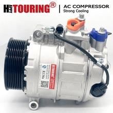 Compressor ac para ar condicionado automotivo, para mercedes benz w164 x164 w251 gl320 gl420 ml320 ml350 r350 0012304711 0012308311 0022305311