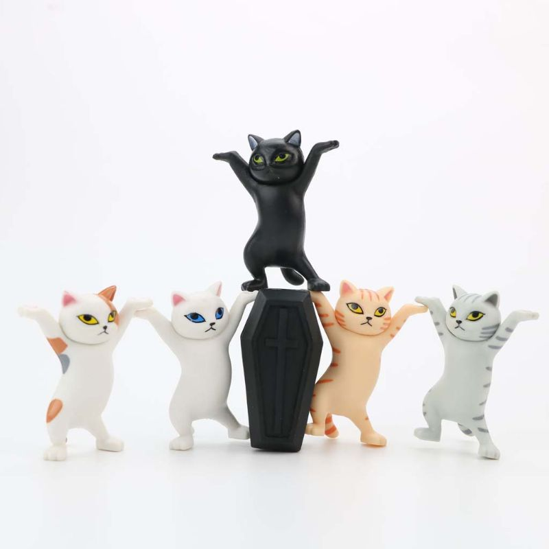 Cute Cat Pen Holders ( Without Coffin ) 6