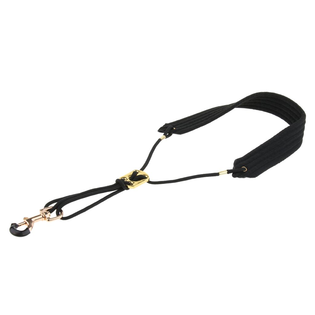 Soft Adjustable Saxophone Neck Strap For Alto Tenor Soprano Saxophone