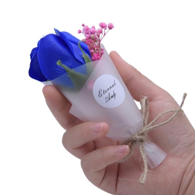 Bouquet de fleurs Gypsophila Paniculata | Accessoires pour Photo, Mini Bouquet de fleurs savon, fournitures de décoration de fête Festive