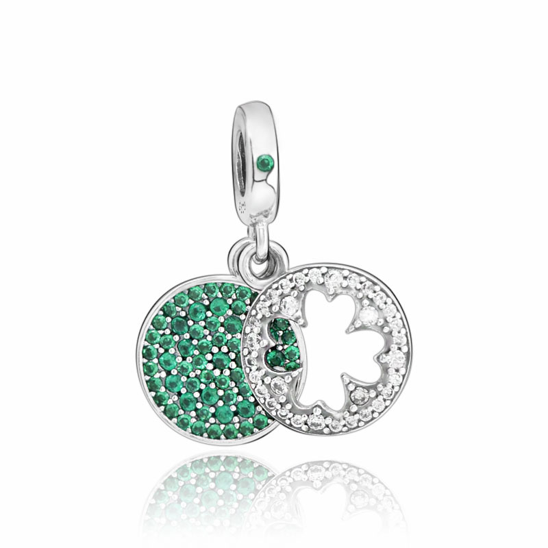 4pcs Miyuki Beaded Four-Leaf Clover Connector Charm Seed Beads Pendant for Bracelet Earring Necklace DIY Jewery Making components 24X12mm