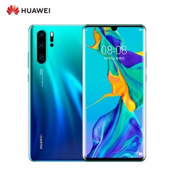 Перейти на Алиэкспресс и купить Оригинальный смартфон Huawei P30 Pro, глобальная версия, 8 ГБ ОЗУ 256 Гб ПЗУ, 6,47 дюйма, 4G GSM, Android 9,0, мобильный телефон, 40 Мп + 32 МП, 4 камеры Leica