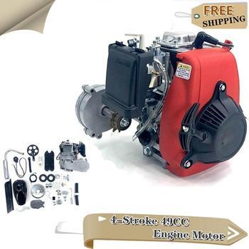 Motor de arranque por cuerda para motocicleta de 4 tiempos y 49CC, Kit completo de bolsillo motorizado de gasolina, Mini Dirt Pit Quad, Scooter, ATV, Buggy
