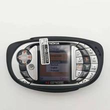 Разблокированный мобильный телефон Nokia N-gage QD Игры bluetooth многоязычный Восстановленный