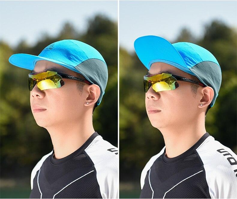 Aonijie e4107 esportes de verão correndo boné