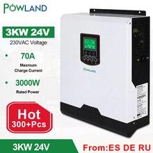 3000va 3000W Omvormer 24V 230VAC 50Hz/60Hz Hybride Inverter Pure Sinus Pwm Batterij charger Inversor