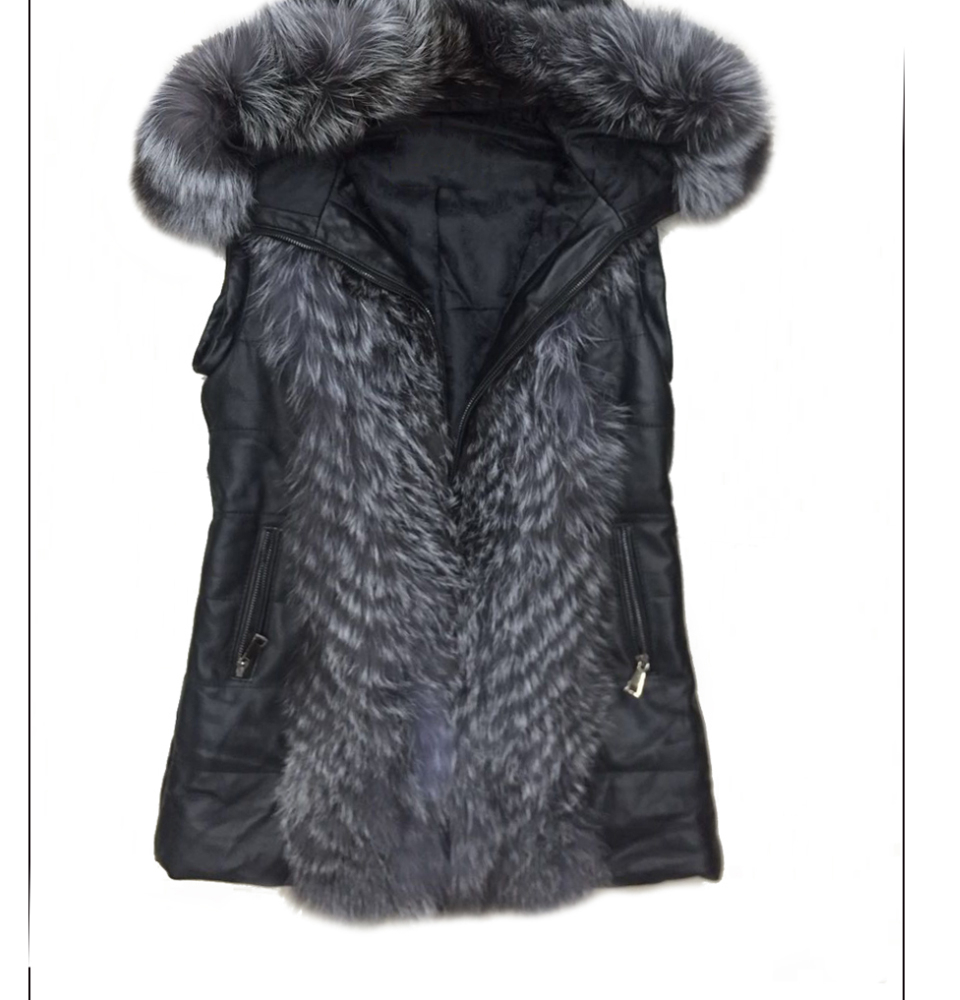 en fourrure veste femmes 14