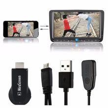 128MB HDMI TV Tongkat Dongle Mirascreen DLNA Airplay Miracast Airmirroring Chromecast untuk Windows10 Adaptor Wi-fi Tampilan Receiver(China)
