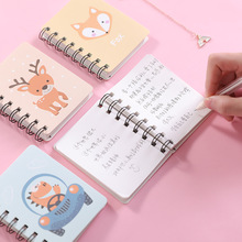 Travel Diary Note-Book Spiral-Planner-Organizer Journal Kawaii A7 Paper Mini Personal